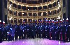 Siracusa. Al Teatro comunale la Fanfara, festeggiati i 90 anni dell'associazione carabinieri