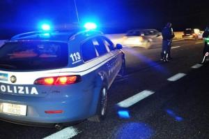 polizia-stradale-incidente-autostrada-notte