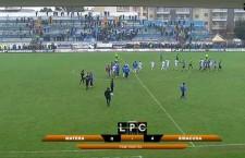 Calcio, Lega Pro. Meraviglia Siracusa, poker rifiilato al Matera