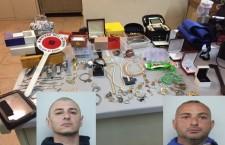 Siracusa. Bloccati dopo un furto: arrestati topi d'appartamento