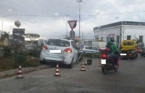 incidente ingresso sud