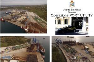 operazione guardia di finanza porto