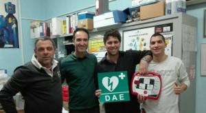 defibrillatore donato