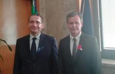 Siracusa. Il prefetto riceve l'ambasciatore d'Australia in Sicilia per l'Anzac Day