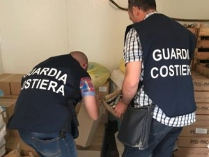 guardia costiera sequestro