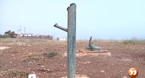 statua rubata