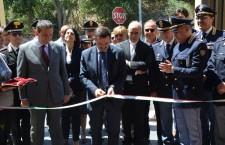 Inaugurato il distaccamento della Polstrada di Noto: taglio del nastro con il direttore Bisogno