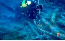 Portopalo. I palombari esplorano il sommergibile Veniero: venne individuato da Enzo Maiorca