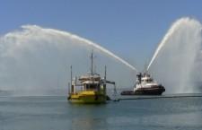 Siracusa. Esercitazione antinquinamento e antincendio in mare: simulazione nelle acque del Porto Grande