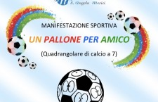"""Siracusa. """"Un pallone per amico"""", quadrangolare di calcio di solidarietà al Sant'Angela Merici"""