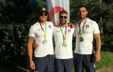 Canoa Polo. Medaglia d'Oro Coni per i 4 siracusani della Nazionale