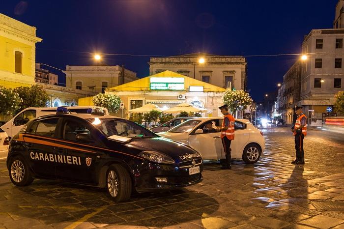 Siracusa.Operazione Alto Impatto, oltre 70 carabinieri dispiegati in tutta la provincia