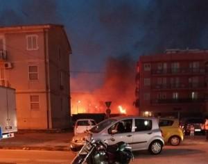 incendio via bulgaria