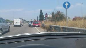 incidente strada floridia