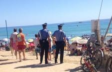 Ladri sotto l'ombrellone, in tre sorpresi ed arrestati con la refurtiva a San Lorenzo