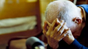 anziano disperato