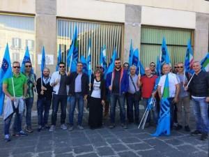 protesta pensionati