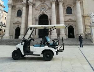 Quadriciclo in Piazza Duomo