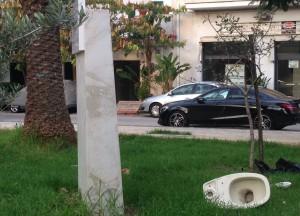 monumento di giovanni con water