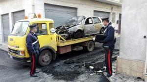 Pachino auto bruciata Falco (3)
