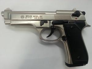 pistola bruni 92 nichelata 8 mm