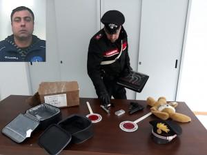 armi sequestrate a Palazzolo