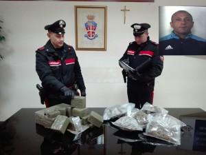 Carabinieri sequestro droga