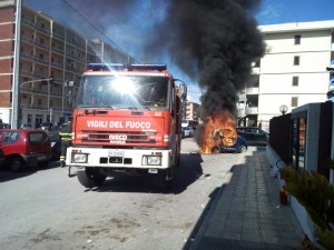 auto a fuoco