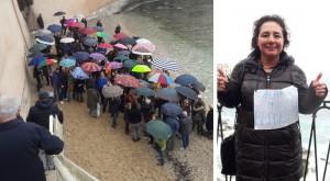calarossa protesta