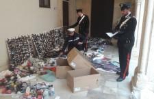 Siracusa. Abusivismo commerciale, maxi sequestro dei carabinieri: giro di vite con la polizia municipale