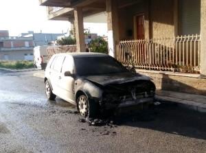 auto bruciata rosolini polpen
