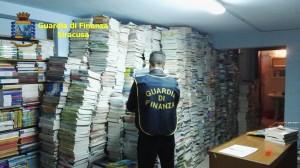 libri di testo sequestro