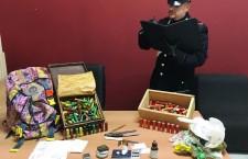 Avola. Cocaina e munizioni varie in casa, ai domiciliari incensurato 43enne