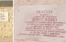 Siracusa. Una svastica al Monumento ai Caduti, la vergogna continua. Il Comune la cancella