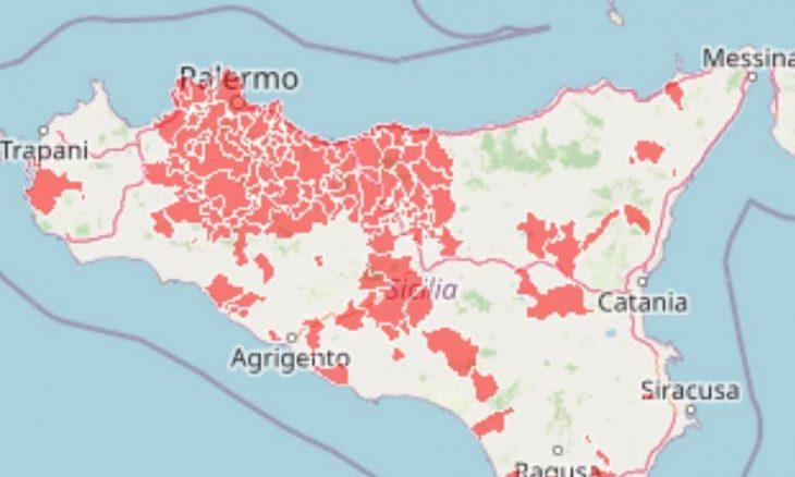 Cartina Sicilia Pdf.Zone Rosse In Sicilia Una Mappa Interattiva Per Conoscere La Situazione Attuale Siracusaoggi It